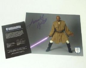Star Wars Samuel L Jackson Official Pix Signed Autograph